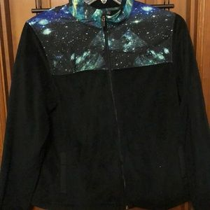 Fila galaxy print sports jacket